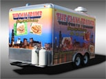 Flava Trailer Vehicle Wrap After