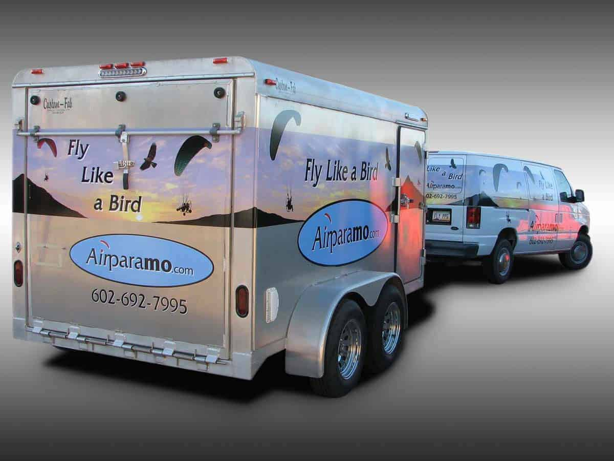 Trailer Wraps | Truck Wraps by 1st Impressions Truck Lettering