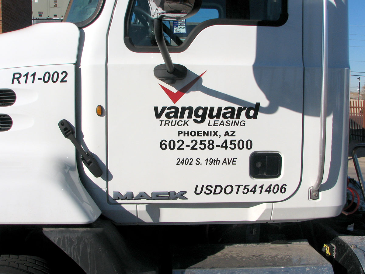 custom semi truck decals