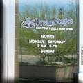 Dreamscapes door signage, Phoenix, AZ