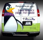 Penguin Air Van Wrap - Vehicle Wrap