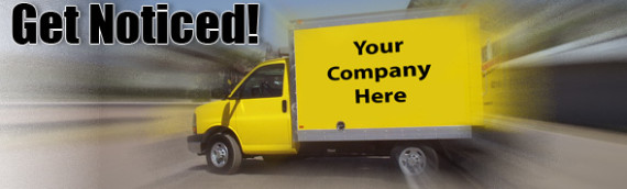 Promote your business with your vehicle wrap
