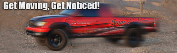 Get Moving… Get Noticed… Using a Vehicle Wrap