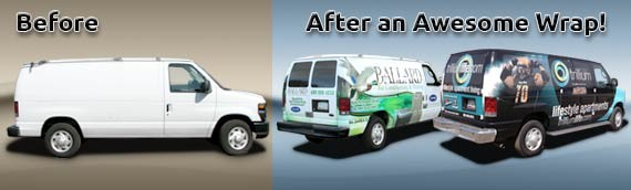 We Love Van Wraps!