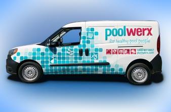 Good Car Wrap - PoolWerx Vehicle Wrap
