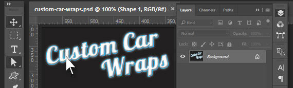 Custom Car Wrap Design