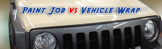 Paint Job vs Vehicle Wrap