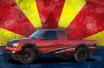 Arizona Car Wraps, 1st Impressions Truck Wrap
