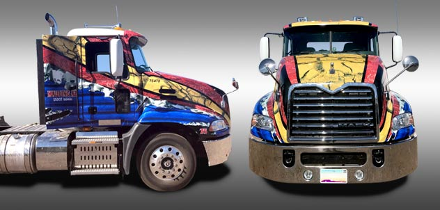 6cd6cc0e3b Hauling Arizona Semi-Truck Vehicle Wrap